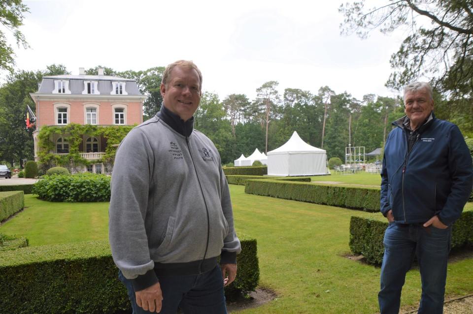 Christophe Lenaerts en Geert Simoen.