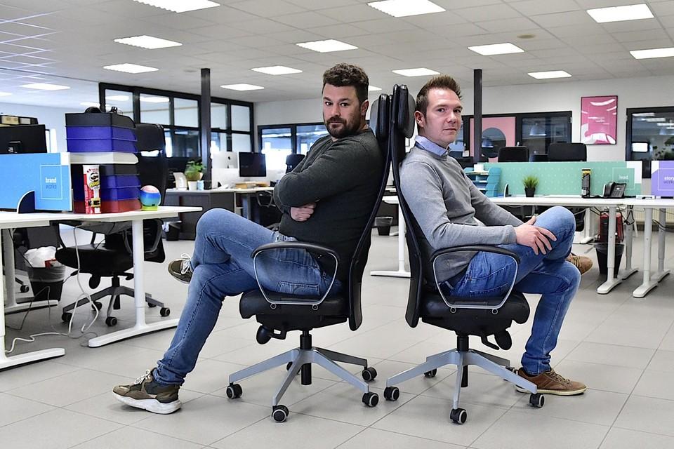 Nick Publie en Sem Govaert startten het bedrijf TWG net voor het land in lockdown ging.