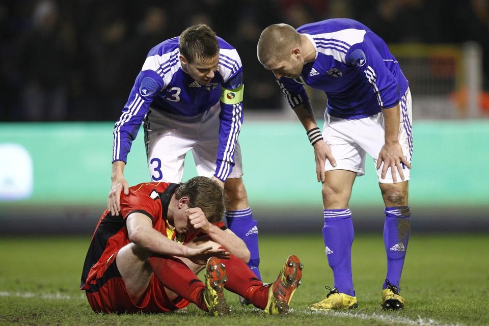 Op 9 februari 2011 kwamen de Rode Duivels - onder anderen met de jonge Jan Vertonghen - nog het dichtst bij een overwinning tegen Finland, maar in de slotminuut viel de gelijkmaker.