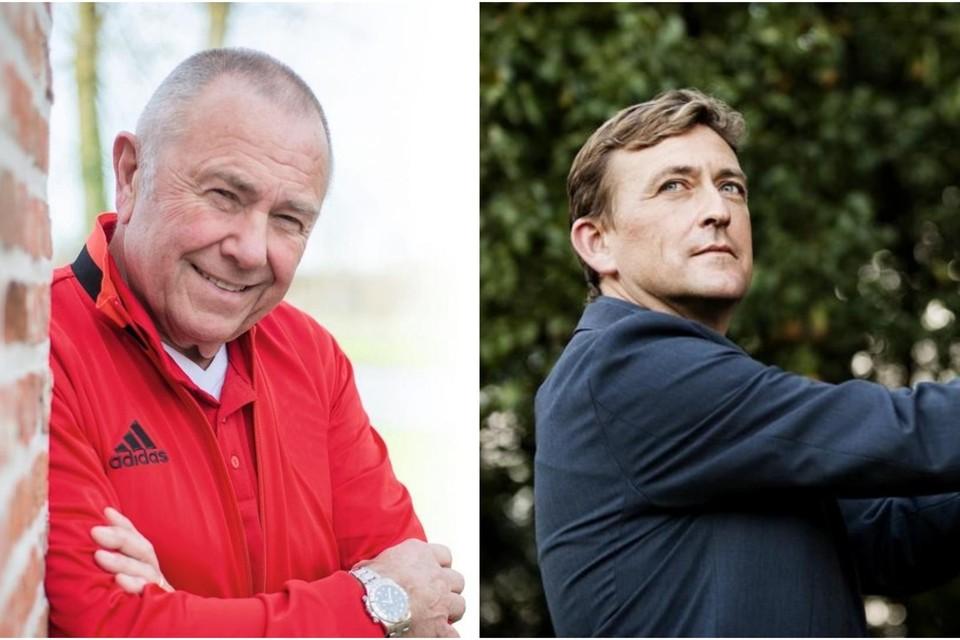 Sportpsychologen Jef Brouwers en Filip Boen.