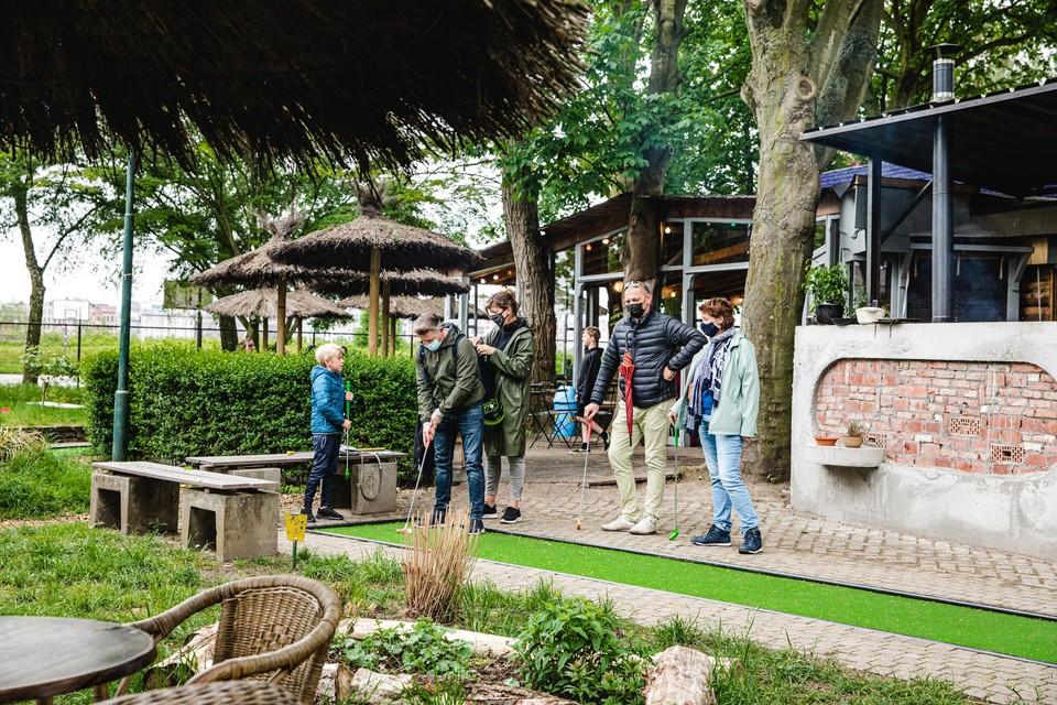 Minigolf Beatrijs is een van de originele locaties waar Arenberg openluchtvoorstellingen gaat organiseren.