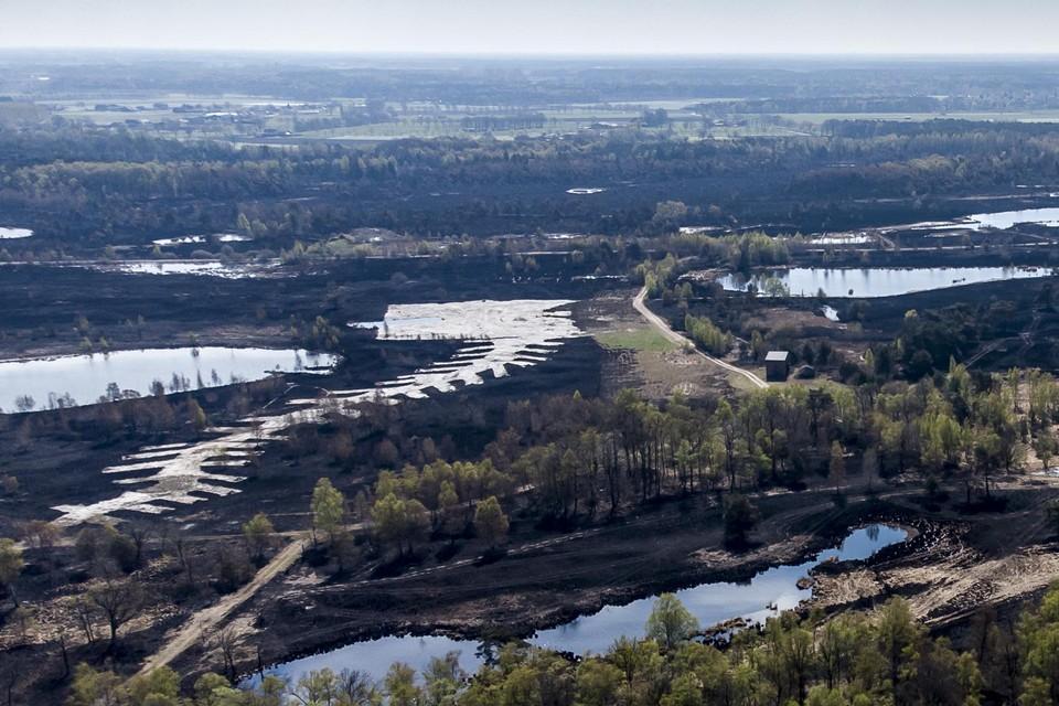 Ruim 500 zwartgeblakerde hectaren in het Groot Schietveld: dat is de balans van de brand van vorige week.