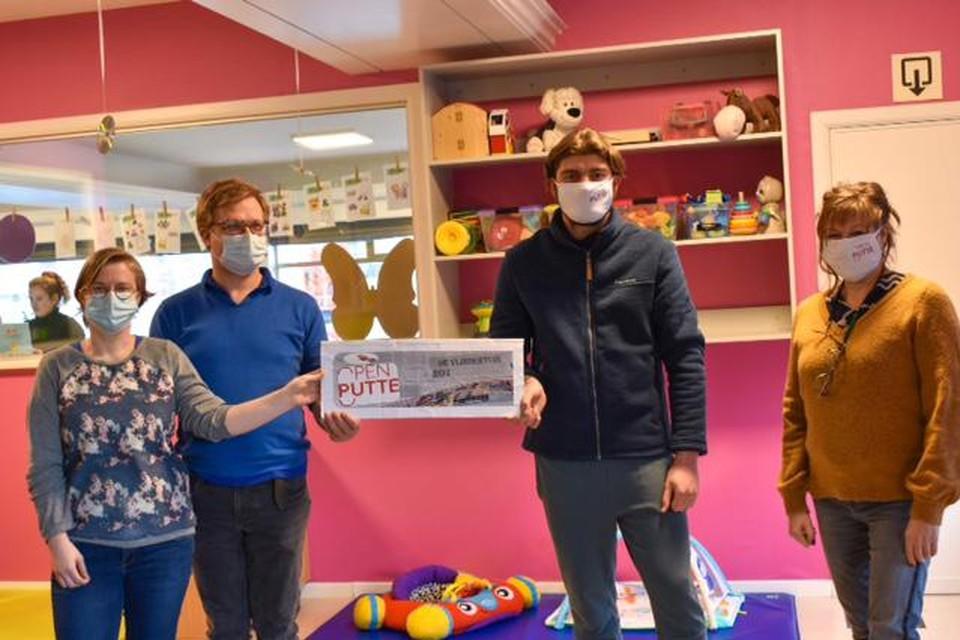 Kinderdagverblijf De Vlindertuin gaat de steun van Open Putte gebruiken om een nieuwe snoezelruimte in te richten.