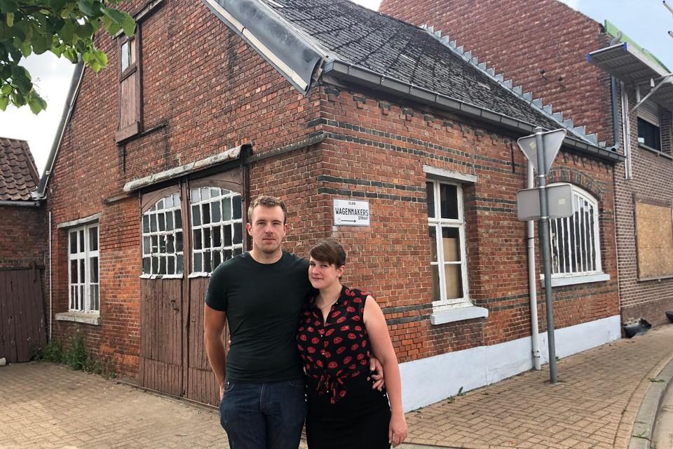 Toen Robin en Sophie het atelier zagen, waren ze verkocht.