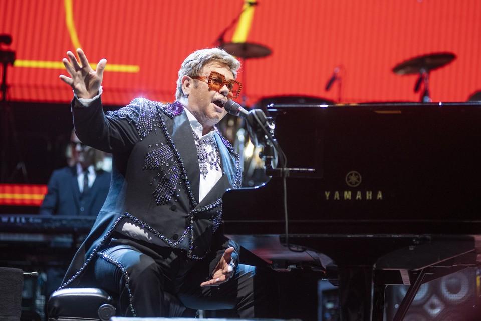 Elton John komt pas in 2023 terug naar België.