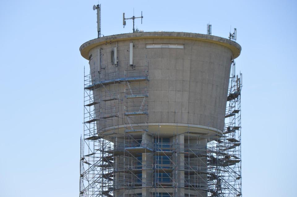 De watertoren van Westmalle.