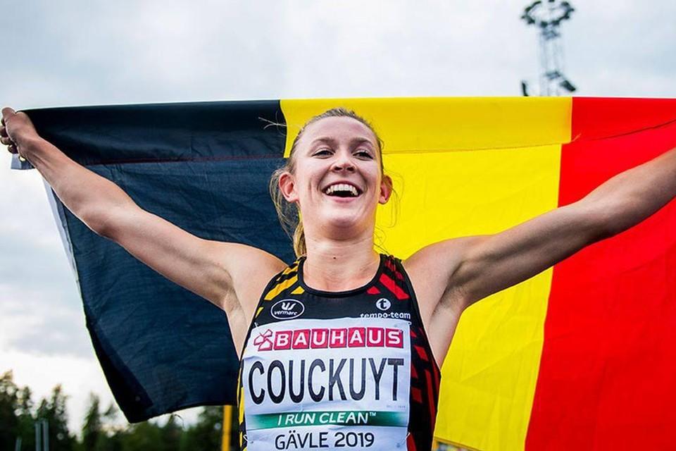 Paulien Couckuyt, de eerste Aartselaarse atlete die aan een individueel nummer op de Spelen meedoet.