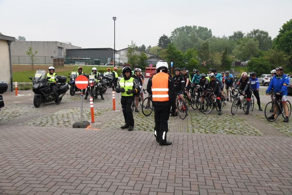 De Lustige Trappers organiseert fietstochten voor wielertoeristen en gezinnen.
