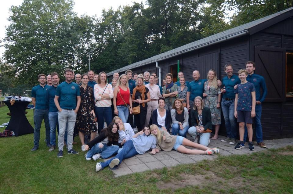 De wielerclub pakte op Poeyelheide al uit met een eerste clubdag samen met de partners en familieleden.