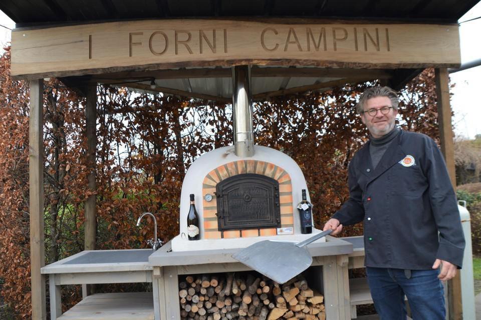 De pizza-ovens van I Forni Campini.