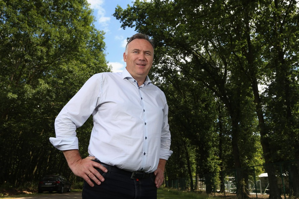 De Maaseikse burgemeester Johan Tollenaere (Open Vld).