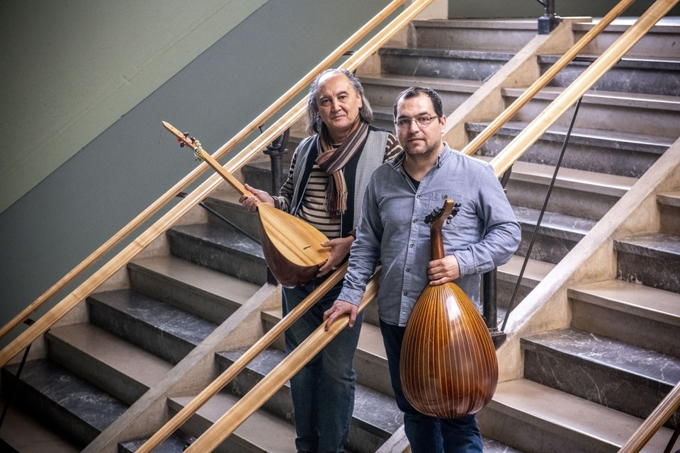 Yusufi Aman uit Afghanistan en Tarek Alsayed Yahya uit Syrië.