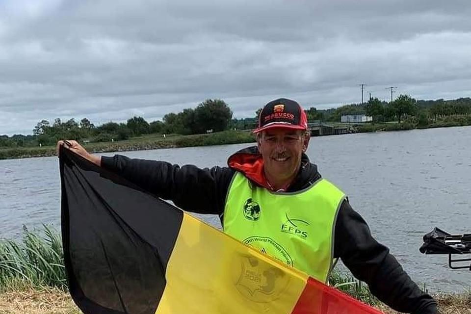 Wereldkampioen Benny Mertens.