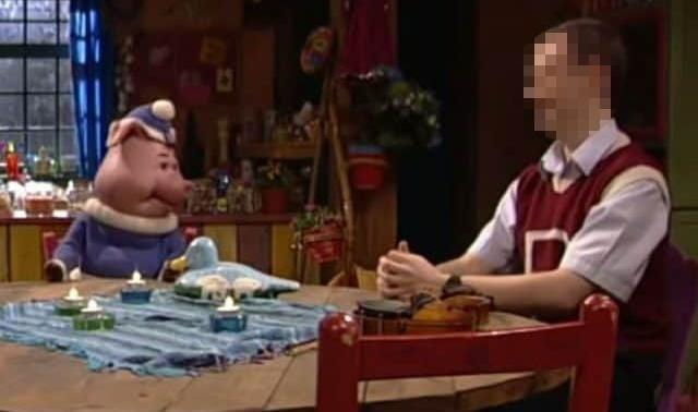 Jan V.H. (rechts) speelde onder meer mee in de Studio 100-kinderreeks Big & Betsy.