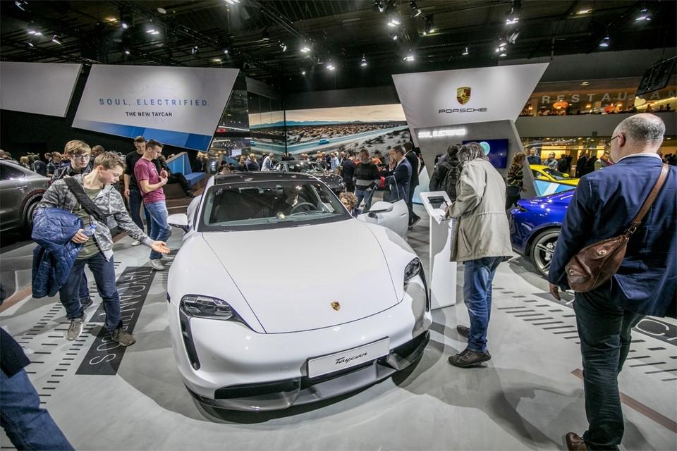 De Porsche Taycan: van 0 naar 100 in 2,8 seconden.
