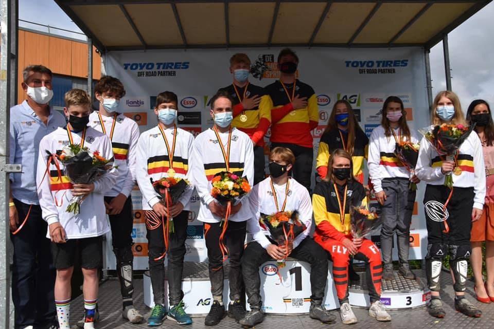 Het Belgisch kampioenschap BMX bij de jeugd werd georganiseerd door De Molensprinters op hun BMX-terrein naast De Populier.