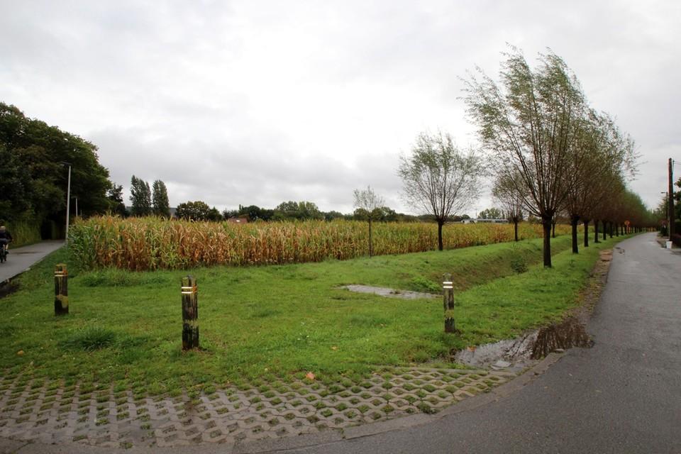 In de Heihoefseweg komen 62 nieuwe woningen en een park.