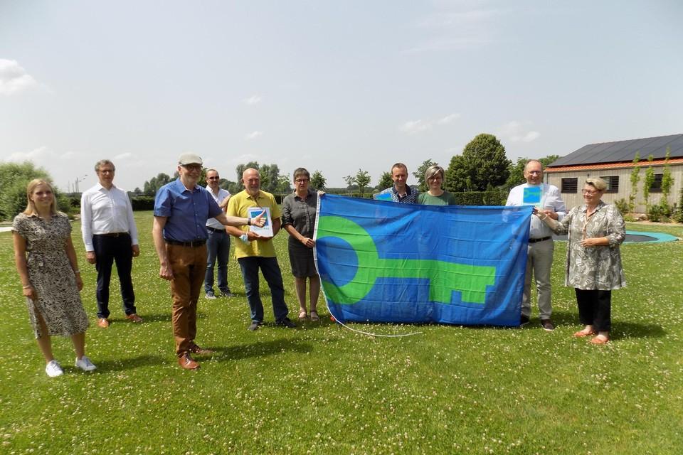 De uitbaters van de drie Kempense vakantiewoningen en B&B's ontvingen in Kasterlee als eersten in de provincie Antwerpen het Green Key Label uit handen van gedeputeerde Jan De Haes en burgemeester Ward Kennes.