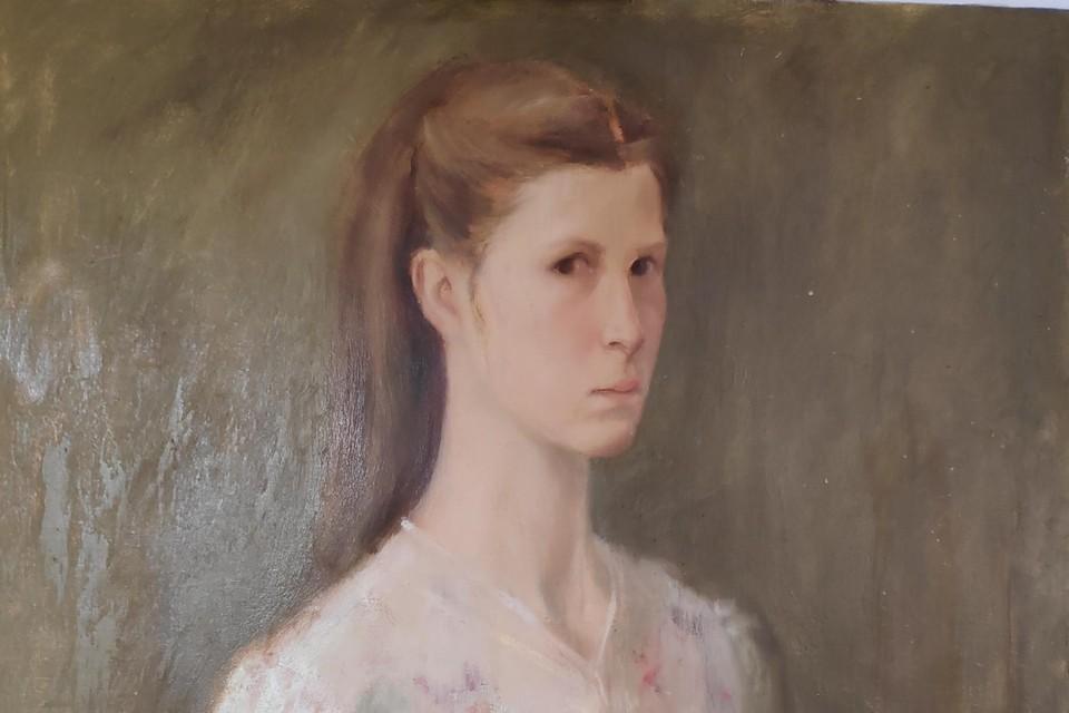 Een al wat ouder zelfportret van Suzanne Lauwereins.