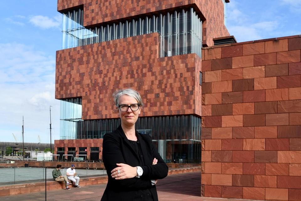 Directeur Marieke Van Bommel voor het MAS, al tien jaar een museum dat het verhaal van de stad en haar inwoners vertelt.