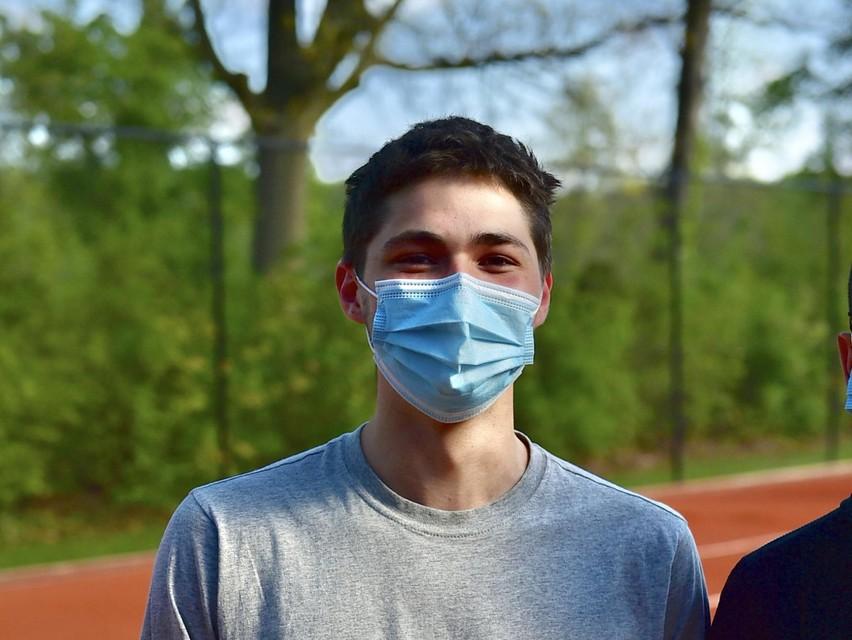 """Kevin: """"Nu nog écht goed leren tennissen."""""""
