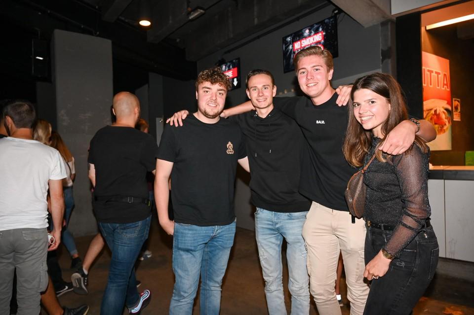 Jeroen, Wouter, Alex en Margot.