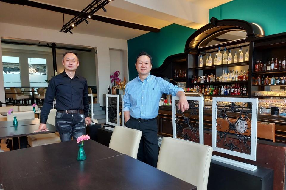 Ivan Wong en Kenny Manzijn de nieuwe uitbaters van het Elzenhof.