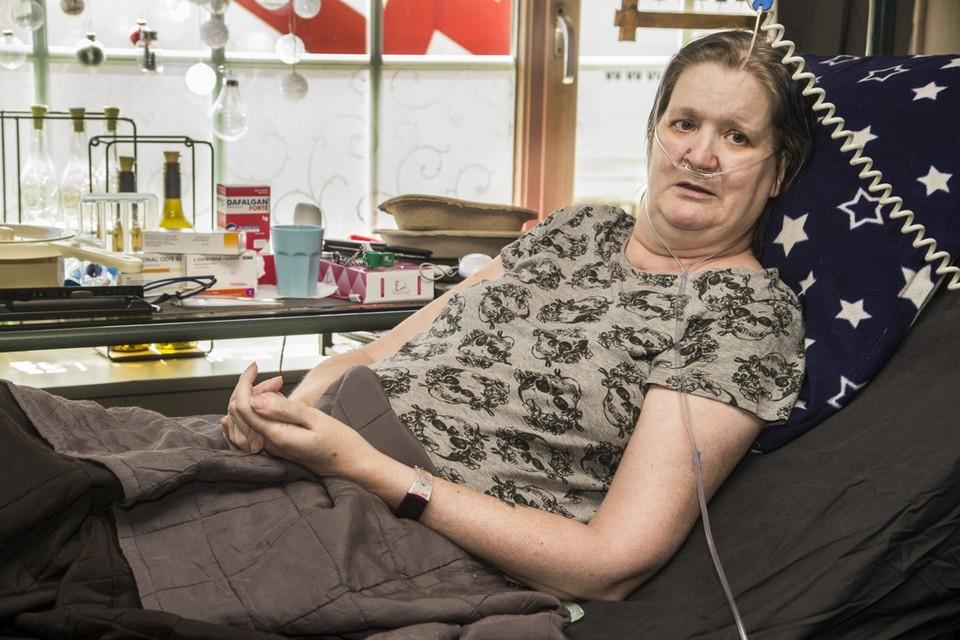 Magda recupereert thuis verder.