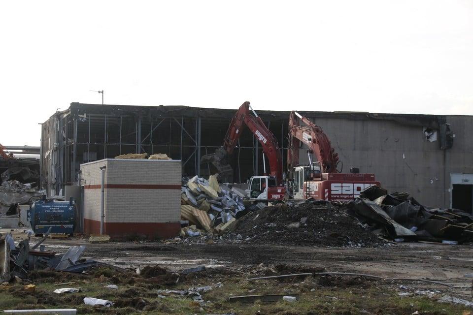 De fabriek werd eind 2016 afgebroken