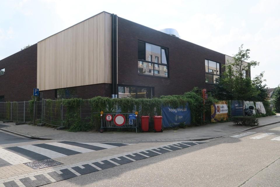 De kleuters van Sint-Cordula namen pas onlangs hun intrek in dit nieuw schoolgebouw.