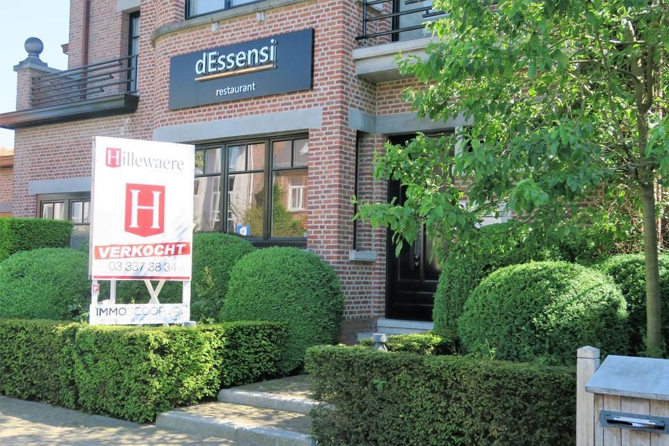 Het bekende restaurant dEssensi is verkocht, maar wordt niet gesloopt, zo belooft de nieuwe eigenaar Vlassak-Verhulst weten.