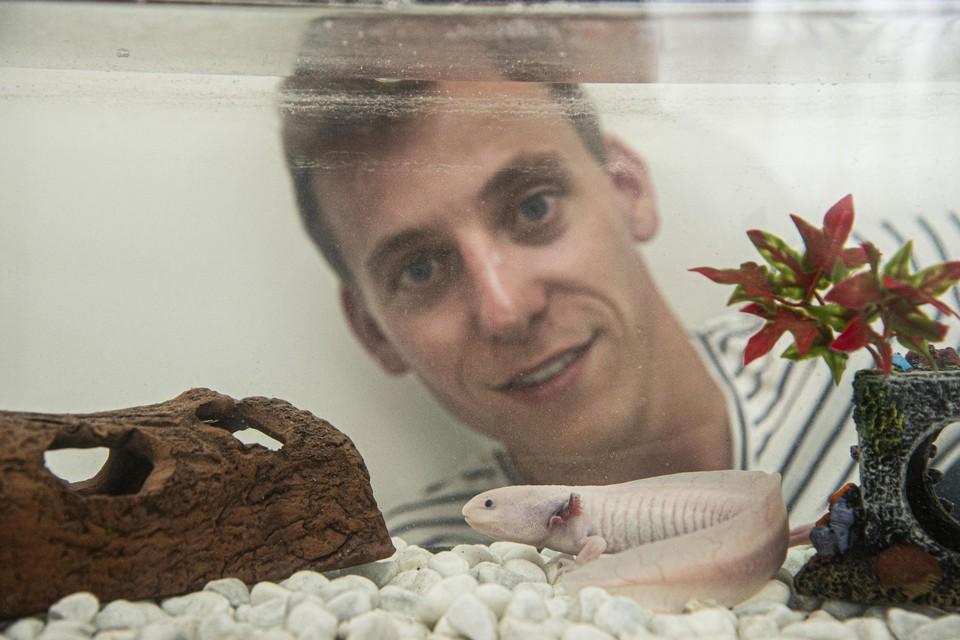 """""""Ik vind een axolotl om een of andere reden keifantastisch."""""""