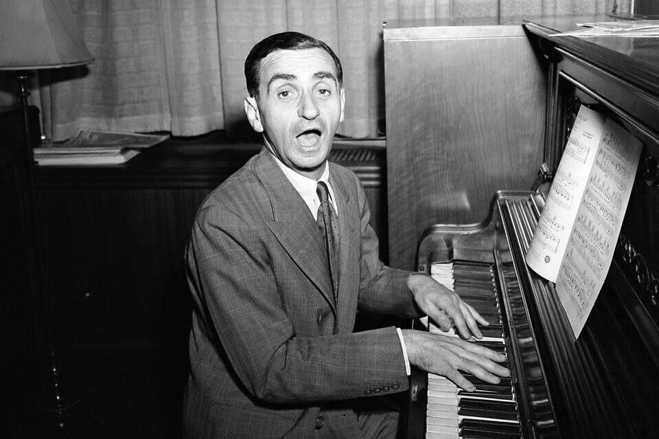 Componist Irving Berlin.