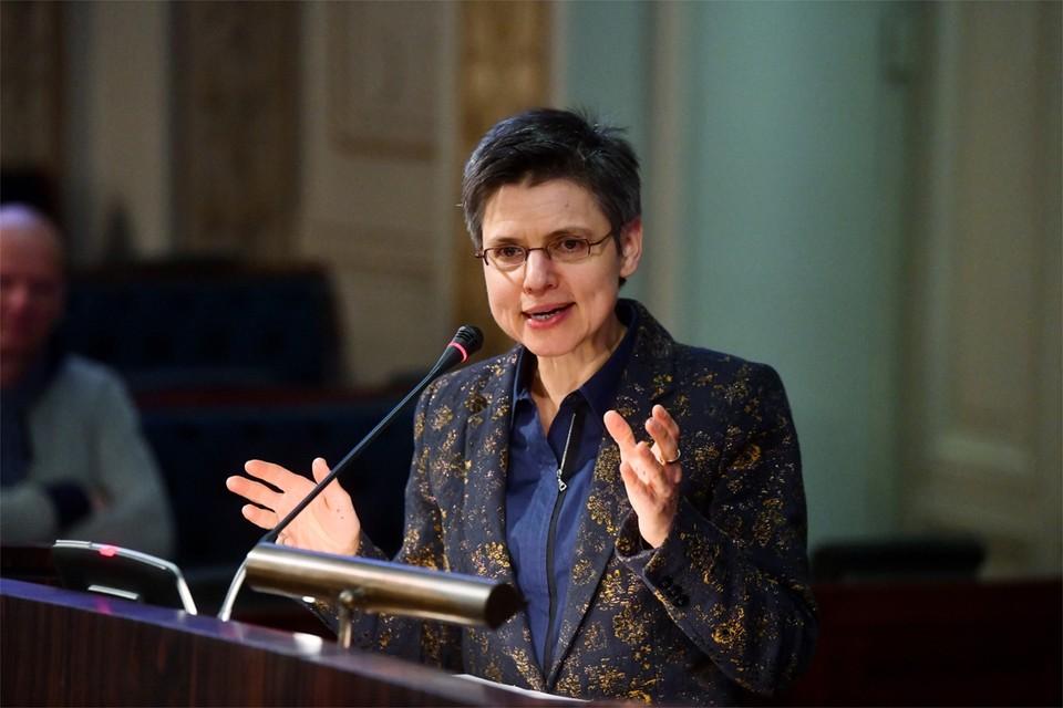 Provinciegouverneur Cathy Berx.