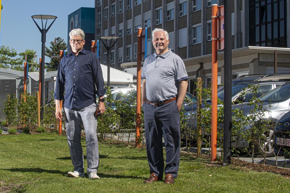"""Ex-verslaafden Patrick Nijsmans en Ivo Pernet: """"Vlaanderen telt ruim 15.000 ex-verslaafden in 400 zelfhulpgroepen. Dat is een groot geheim leger dat een meerwaarde kan betekenen voor professionelen en verslaafden."""""""