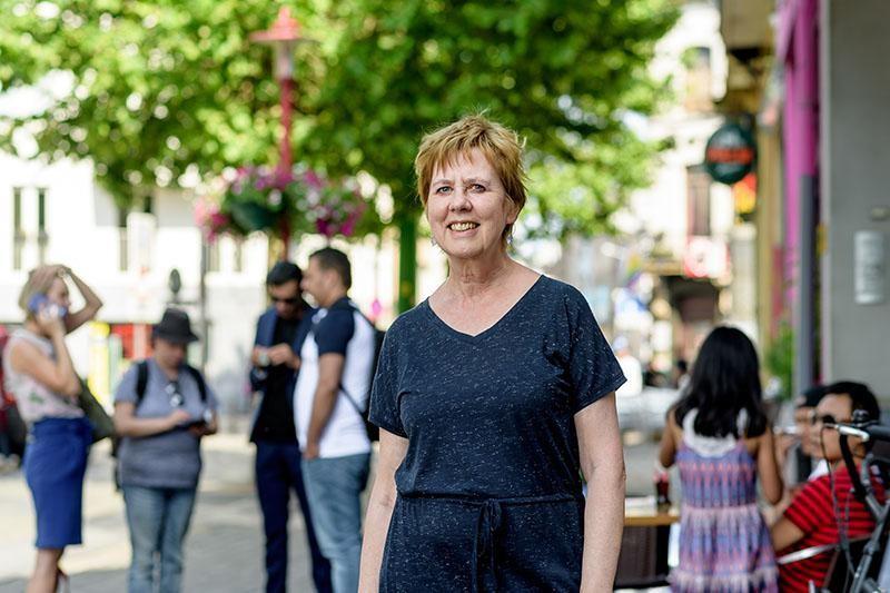 Betty Van Dyck, districtsraadslid voor Groen in Hoboken.