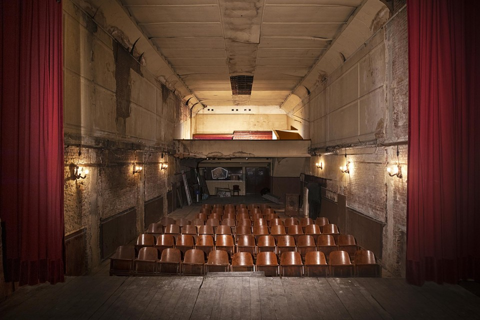 De oude Cinema Rex stond tientallen jaren leeg en krijgt nu een nieuwe culturele toekomst.
