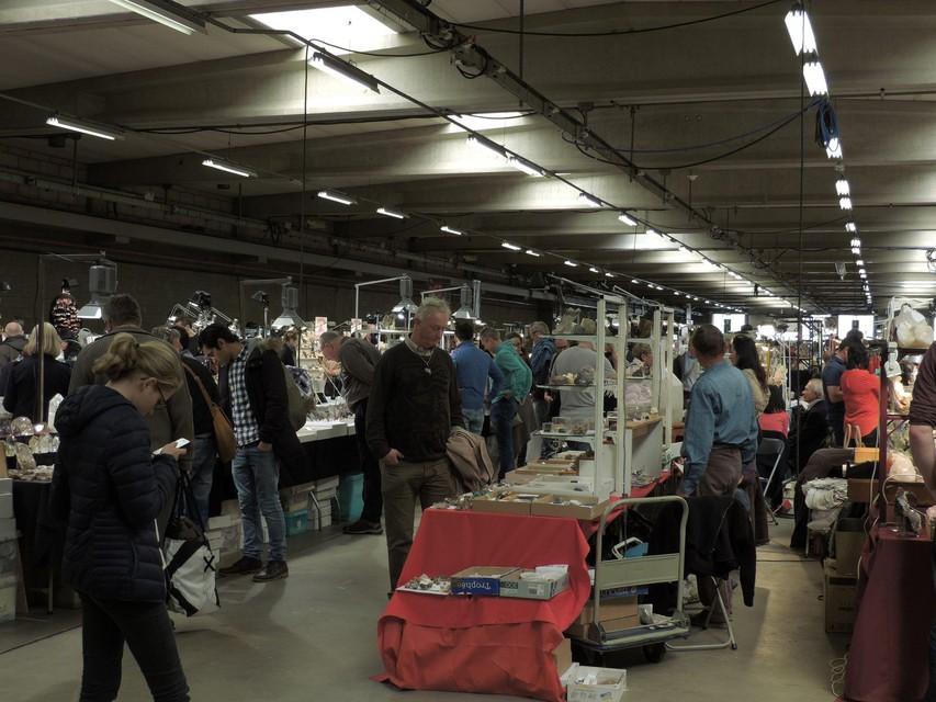 Minerant in Antwerp Expo voor corona.