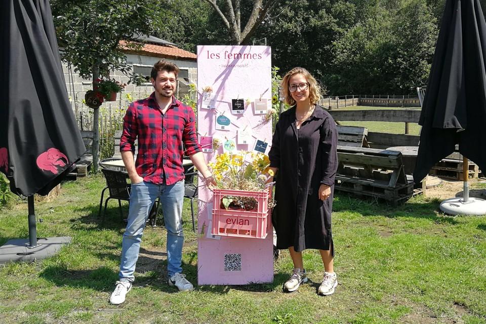 Viktor Van Bulck van De Lentehei speelt zaterdag gastheer voor de zomermarkt van Les Femmes, een initiatief dat aan de creatieve geest van Zoë Eysermans ontsproot.