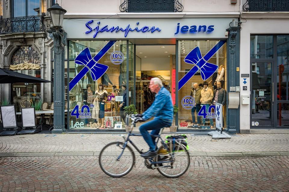 De kledingzaak is een gevestigde waarde in de Mechelse binnenstad.