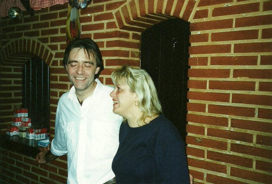 Jan Janssens en Ingrid, uitbaters van The Love