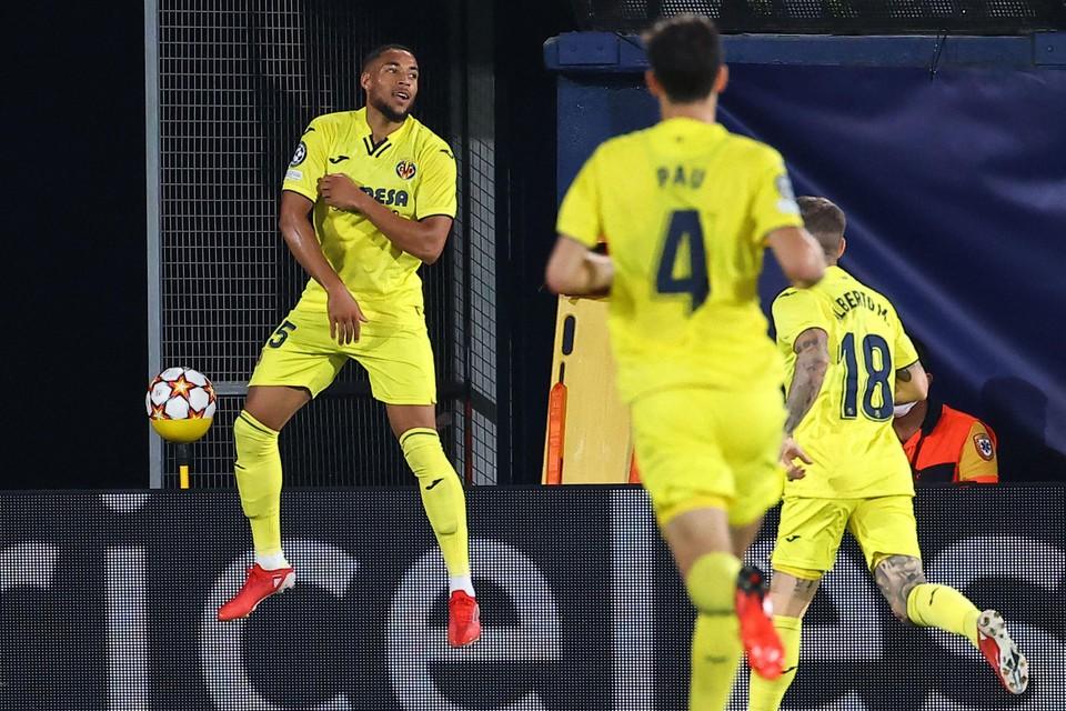 Arnaut Danjuma (ex-Club Brugge) scoorde voor Villareal.
