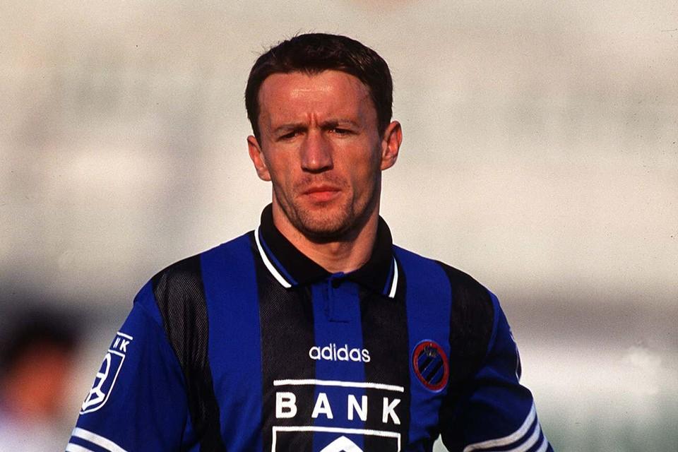 Stanic bij Club Brugge in 1996.