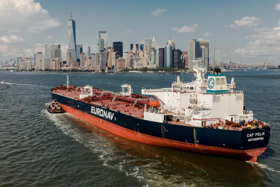 De Antwerpse rederij Euronav kondigde aan schepen te kopen die op ammoniak varen, zonder CO2-uitstoot.