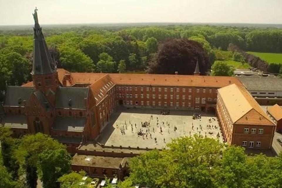 Klooster- en schoolgebouwen Redemptoristen Essen.