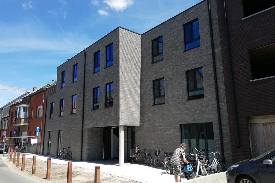 Het nieuwe wooncomplex van Borgerstein in de Schijfstraat.