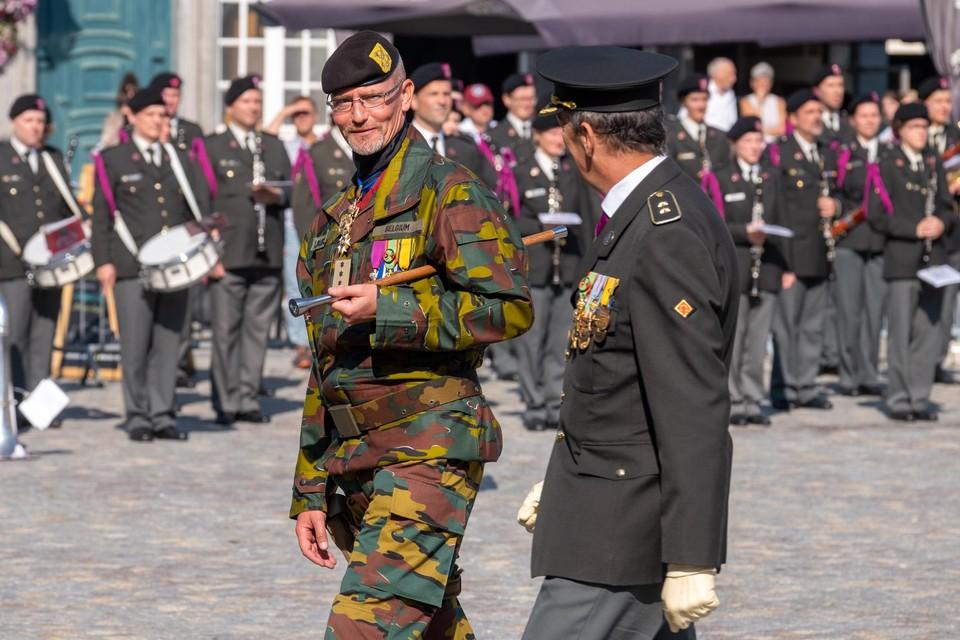De nieuwe commandant van het Competentiecentrum van de Landcomponent.