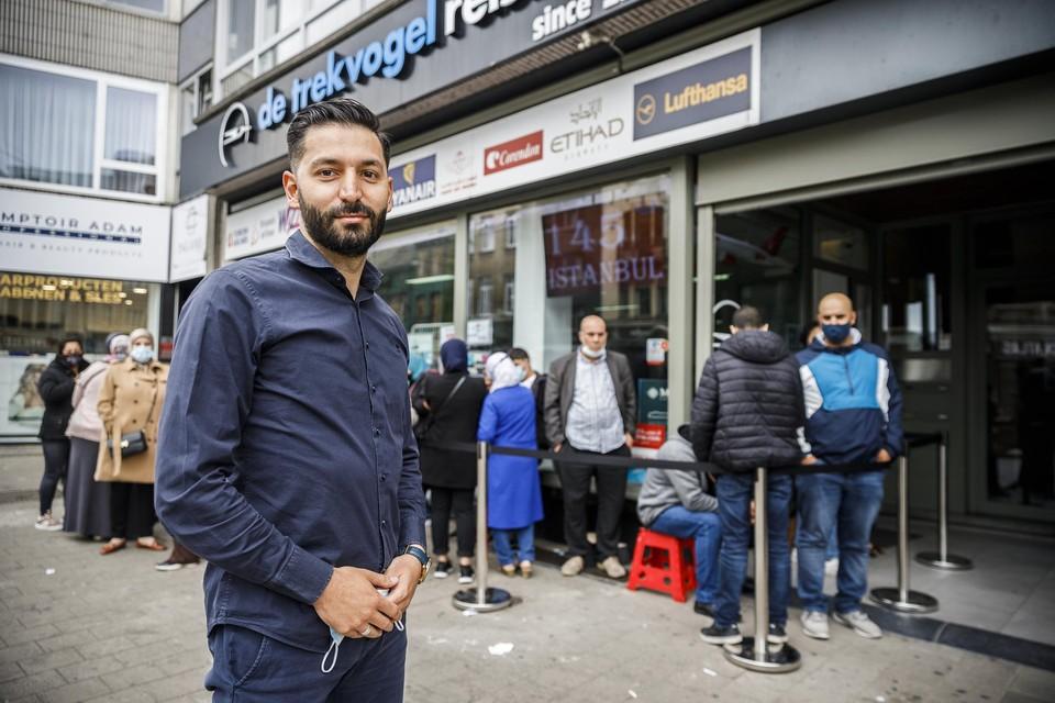 Fatih Anaz, eigenaar van reisbureau De Trekvogel.
