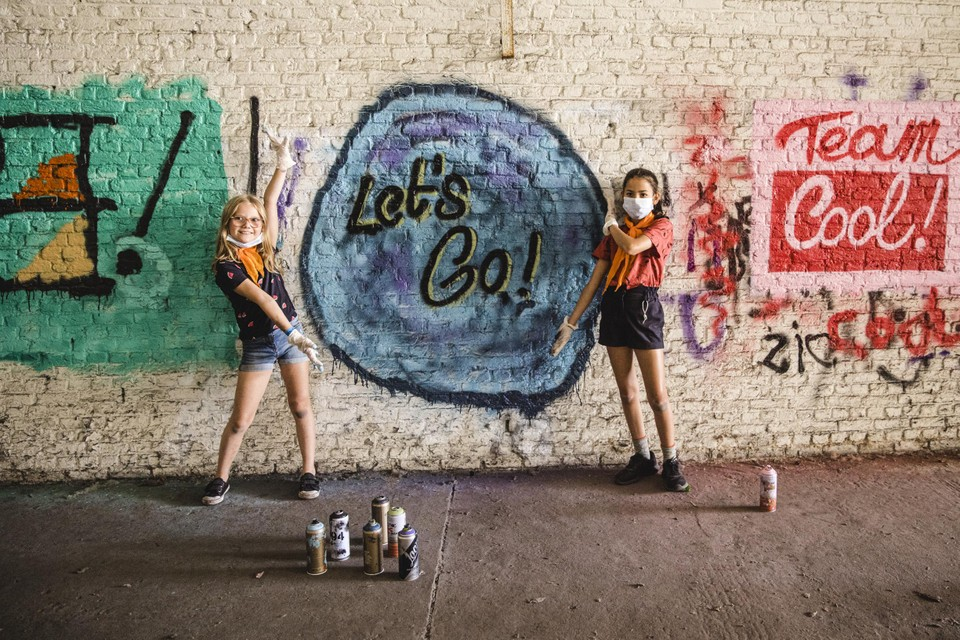 Elena (8) en Nico (9) laten er geen gras over groeien: 'Let's go!'