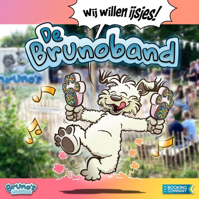 De cover van de single Wij willen ijsjes van Bruno's IJsjesbar